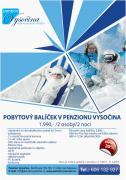 Zimní welness balíček v Penzionu Vysočina