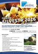 Silvestr 2016 na Vysočině