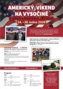 AMERICKÝ VÍKEND NA VYSOČINĚ (24.-26.1.2020)